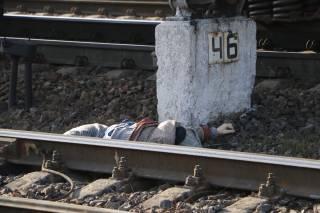 В Киеве поезд насмерть сбил пенсионерку