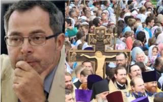 Скандальный лоббист ПЦУ Андрей Юраш может получить сразу...  12 тысяч исков от верующих