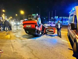 Во Львове пьяный водитель чудом выжил, чтобы устроить драку