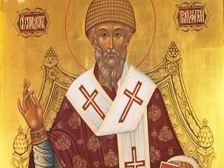 Митрополит Антоний рассказал о вере святителя Спиридона Тримифунтского