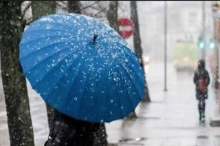 На ближайшие выходные по Украине ожидается снегопад