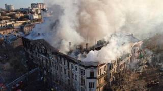 Опознана последняя жертва пожара в одесском колледже