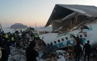 В Казахстане разбился самолет – погибли люди