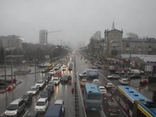 Как выяснилось, с помпой открытый Шулявский мост функционирует в весьма ограниченном режиме