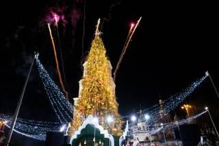 Новогодняя елка в Киеве вошла в пятерку лучших в Европе