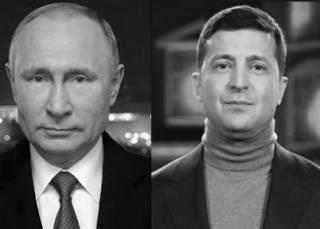 Новогодний сироп от Путина и Зеленского