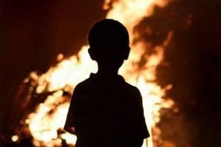 На пожаре в Запорожской области погибли двое малолетних детей