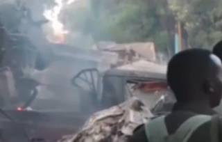 В Судане разбился украинский самолет – погибли десятки людей