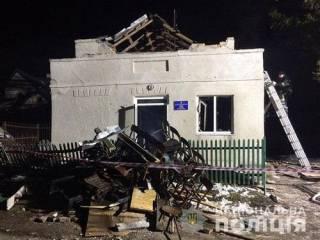 На Тернопольщине взорвался сельский клуб, когда там репетировали подростки