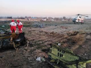 В Тегеране разбился украинский самолет. Никто не выжил