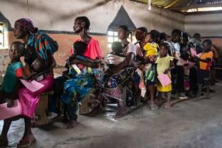 Жертвами эпидемии кори в одной из стран Африки стали тысячи людей