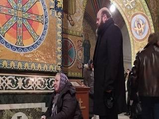 В Почаевской лавре заметили митрополита ПЦУ