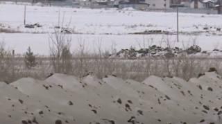 Зеленый снег напугал жителей одного из российских городов