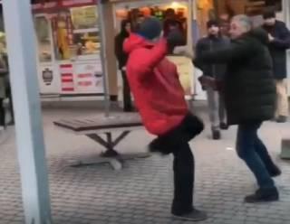 В Ровно эпично подрались водитель и пассажир маршрутки