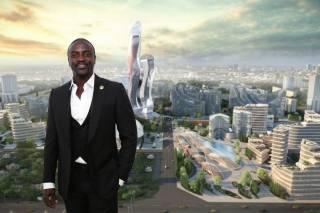 Известный американский рэпер построит целый город в Африке