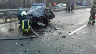 В Киеве произошло кровавое ДТП – погиб человек