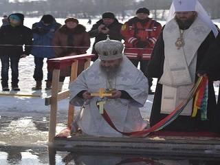 В УПЦ открыли аккредитацию СМИ на освящение вод Днепра