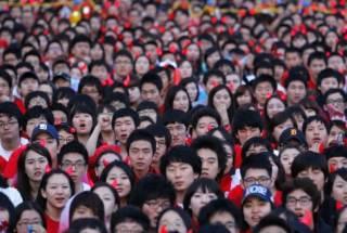 В Китае рекордно выросла численность населения