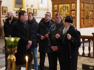 Послы стран Балтии и Польши посетили Святогорскую лавру