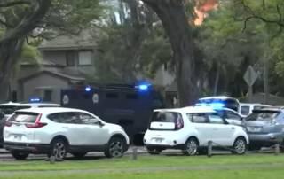 На Гавайях мужчина расстрелял полицейских и… сгорел в пожаре