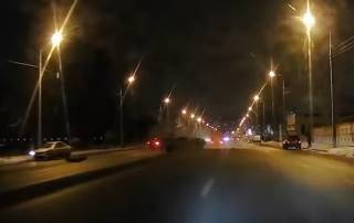 Камера сняла смертельную аварию в Днепре