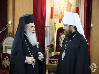 В Израиле представитель РПЦ обсудит с Иерусалимским Патриархом проведение всеправославного совещания