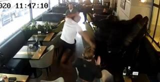 Кива устроил драку в ресторане с ветераном АТО и знатно получил по лицу