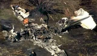 В США, врезавшись в забор, разбился самолет – есть погибшие