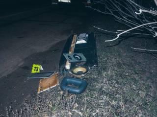 Под Киевом «взбесившийся» Renault скинул Kia в кювет ‒ погибла женщина