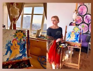 В феврале в Киеве покажут новые картины художницы Вероники Чекалюк