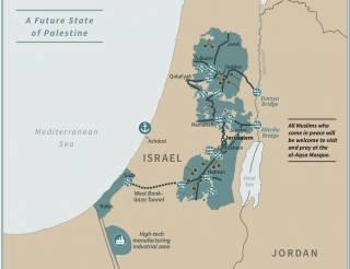 Стало известно, как выглядит Палестина в глазах Трампа
