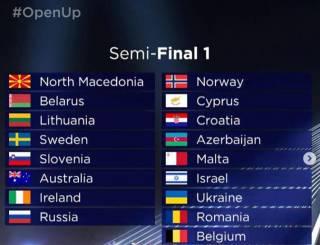 Стало известно место Украины на «Евровидении»