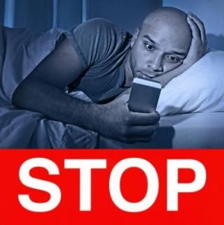 Мобилка ночью становится опасной