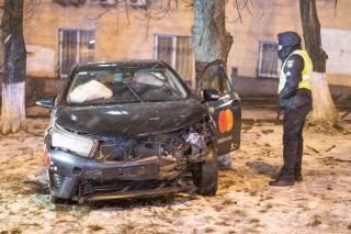 В центре Киева произошло эпичное ДТП