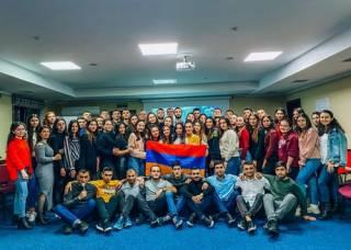 Союз армянской молодежи Украины запустил зимний лагерь в Карпатах