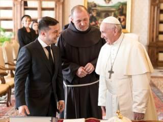 «Назвал меня Президентом мира». Зеленский раскрыл детали аудиенции с Папой Римским