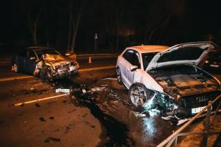 Пьяный водитель устроил кровавое ДТП в Броварах
