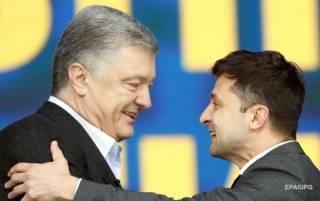 В Украине теперь новый президент - Порошенко. Забудьте про Зеленского