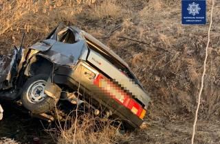На трассе Киев – Звенигородка фура буквально смяла автомобиль: погиб человек