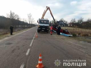 На Львовщине обнаружили автомобиль с четырьмя трупами