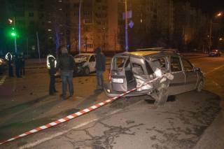 Пьяный таксист устроил кровавое ДТП в Киеве