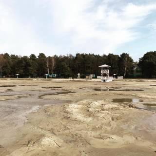 Самое глубокое озеро Украины стремительно мельчает
