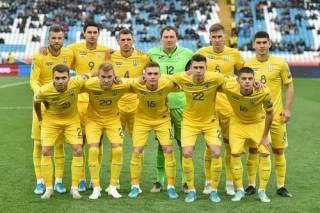 Сборная Украины начала футбольный год в топ-25 сильнейших команд мира