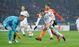 Лига Европы: «Шахтер» одержал тяжелую победу над «Бенфикой» в первом матче 1/16 финала