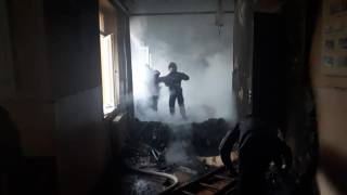 На Прикарпатье загорелась школа. Благо, обошлось без жертв