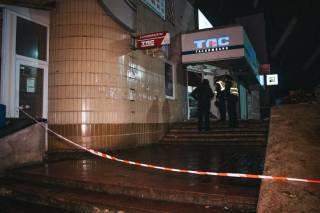 Ночью на Троещине взорвали отделение банка