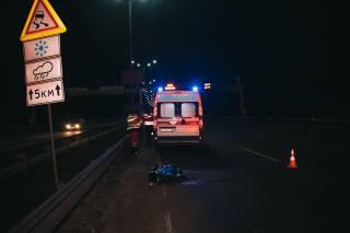 Под Киевом гражданин Германии на джипе насмерть сбил мужчину
