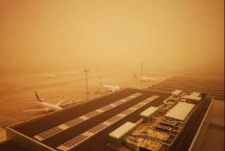 Популярный испанский курорт накрыла песчаная буря космических масштабов