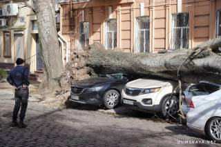На юге Украины бушует сильнейший ураган. Погибла женщина