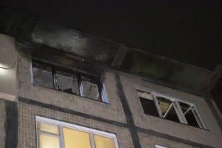 В Киеве мужчина зачем-то пытался сжечь своего соседа